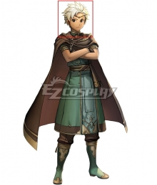 Fire Emblem Heroes Boey Silver Cosplay Wig