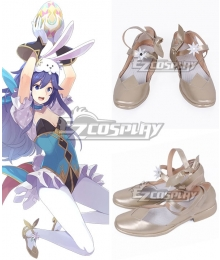 Fire Emblem Heroes Spring Festival Lucina Golden Cosplay Shoes