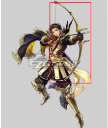Fire Emblem: Heros Claude Almyra's King Bow Arrow Cosplay Weapon Prop