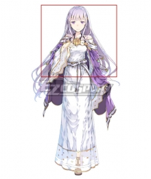 Fire Emblem Julia Purple Cosplay Wig