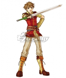 Fire Emblem: Radiant Dawn Edward Cosplay Costume