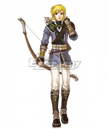 Fire Emblem: Radiant Dawn Leonardo Cosplay Costume