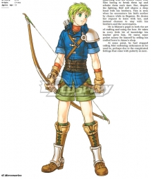 Fire Emblem: Radiant Dawn Rolf  Cosplay Costume