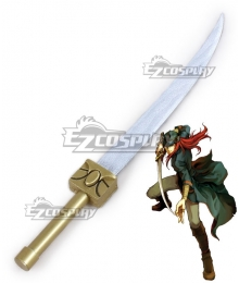 Fire Emblem Sacred Stones Joshua Sword Cosplay Weapon Prop
