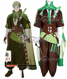 Fire Emblem Three Houses 5 Years Ignatz Timeskip Cosplay Costume