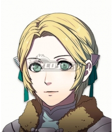 Fire Emblem: Three Houses 5 Years Ingrid Timeskip Golden Cosplay Wig