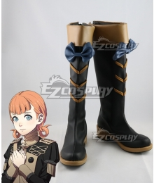 Fire Emblem: Three Houses Annette Black Shoes Cosplay Boots