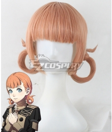 Fire Emblem: Three Houses Annette Orange Cosplay Wig