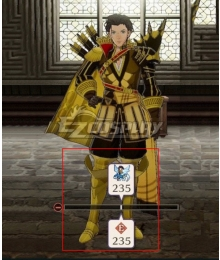 Fire Emblem Three Houses Claude von Riegan Golden Shoes Cosplay Boots