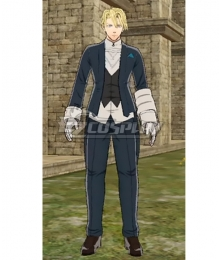 Fire Emblem Three Houses DLC Claude Male Custom Servant Uniforms Cosplay Costume