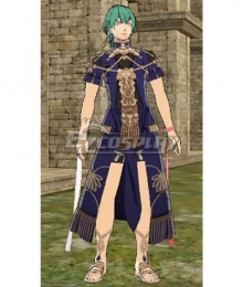 Fire Emblem Three Houses DLC Byleth Sothis Regalia Male Cosplay Costume