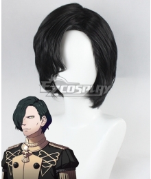 Fire Emblem: Three Houses Hubert Black Cosplay Wig