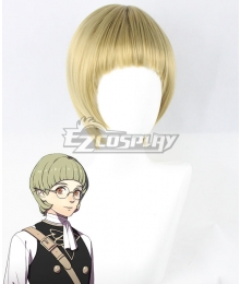 Fire Emblem: Three Houses Ignatz Green Cosplay Wig