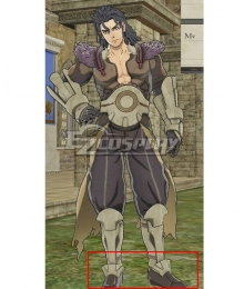 Fire Emblem: Three Houses indered Shadows Balthus Time Skip Brown Cosplay Shoes