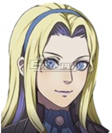 Fire Emblem Three Houses indered Shadows Constance Time Skip Golden Cosplay Wig