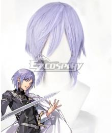 Fire Emblem: Three Houses indered Shadows Yuri Purple Cosplay Wig