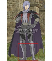 Fire Emblem: Three Houses indered Shadows Yuri Time Skip Grey Shoes Cosplay Boots