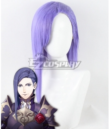 Fire Emblem Three Houses Lorenz Hellman Gloucester Time Skip Purple Cosplay Wig