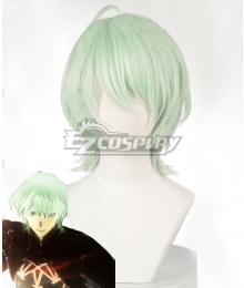 Fire Emblem: Three Houses Male Byleth Green Cosplay Wig