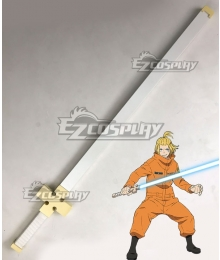 Fire Force Enen no Shouboutai Arthur Boyle Sword Cosplay Weapon Prop