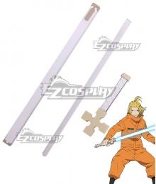 Fire Force Enen No Shouboutai Arthur Boyle Sword Cosplay Weapon Prop - B Edition