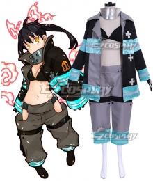 Fire Force Enen no Shouboutai Kotatsu Tamaki Battle Suit Cosplay Costume