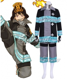 Fire Force Enen no Shouboutai Shinra Kusakabe Battle Suit Cosplay Costume
