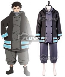 Fire Force Enen No Shouboutai Shinra Kusakabe Ship Cosplay Costume