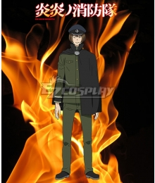 Fire Force Enen no Shouboutai Takeru Noto Cosplay Costume