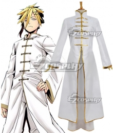 Food Wars Shokugeki no Soma Terunori Kuga Cosplay Costume