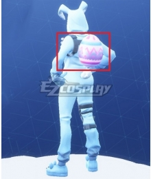 Fortnite Battle Royale Bunny Brawler Easter Egg Backpack Cosplay Accessory Prop