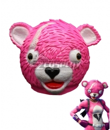 Fortnite Battle Royale Cuddle Team Leader Mask Cosplay Accessory Prop