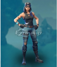 Fortnite Battle Royale Fortune Cosplay Costume