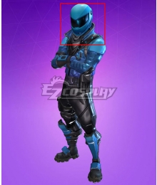 Fortnite Battle Royale Honor Guard Helmet Cosplay Accessory