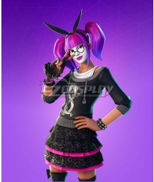 Fortnite Battle Royale Lace Skin Cosplay Costume