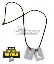 Fortnite Battle Royale Necklace Cosplay Accessory Prop