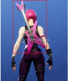 Fortnite Battle Royale Power Chord Guitar Cosplay Weapon Prop