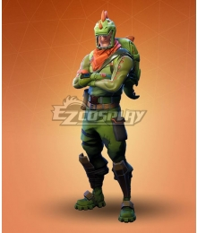Fortnite Battle Royale Rex Cosplay Costume - No Hat