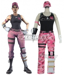Fortnite Battle Royale Rose Team Leader Cosplay Costume