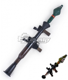 Fortnite Battle Royale RPG-7 Rocket Launcher Cosplay Weapon Prop