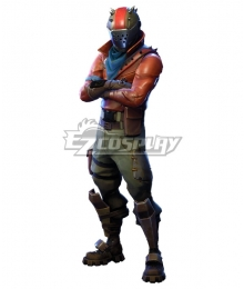 Fortnite Battle Royale Rust Lord Cosplay Costume