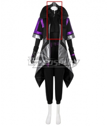 Fortnite Battle Royale Season 10 Catalyst Overcharged Style Cosplay Costume Only Hoodie
