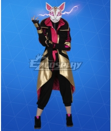 Fortnite Battle Royale Season 10 Catalyst Riftstorm Color Cosplay Costume