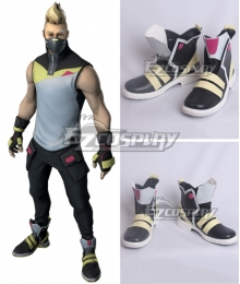 Fortnite Battle Royale Season 5 Drift Skins Black Cosplay Shoes