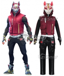 Fortnite Battle Royale Season 5 Drift Skins Tier 4 Cosplay Costume - Mask Free