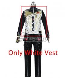 Fortnite Battle Royale Season 5 Drift Skins Tier 4 Cosplay Costume - Only Wthie Vest