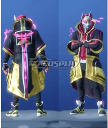 Fortnite Battle Royale Season 5 Drift Skins Tier 6 Cosplay Costume - Starter Edition