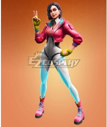 Fortnite Battle Royale Season 9 Rox Cosplay Costume