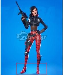 Fortnite Battle Royale Sorana Red Cosplay Shoes