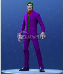 Fortnite Battle Royale The Joker Halloween Cosplay Costume